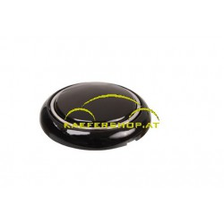 Hupenknopf, schwarz
