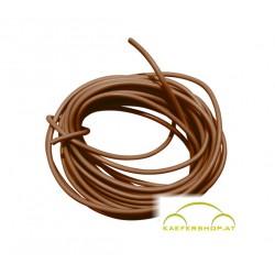 Auto-Elektro-Kabel, braun, 1,5mm², 5 lfm