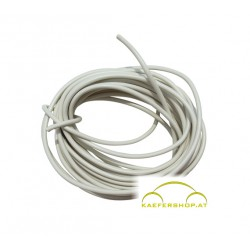 Auto-Elektro-Kabel, weiss, 1,5mm², 5 lfm
