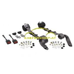 Automatikgurt, vorne, Limousine / Cabrio, grau, Paar