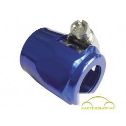 """Schlauchschelle """"Spezial"""", Alu blau, 16-18mm"""