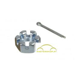 Kronenmutter, Spurstangenkopf, M10x1mm