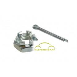 Kronenmutter, Spurstangenkopf, M12x1.5mm