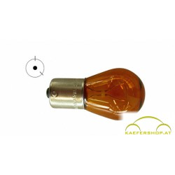 Einfaden Glühlampe, orange, 12V, 21W