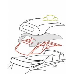 Innenhimmel Cabrio, schwarz, 63-7.71