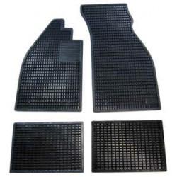 Gummimattensatz schwarz, 4-tlg., OE-Qualität