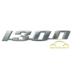 """Schriftzug """"1300"""", 15,5x2,5cm"""