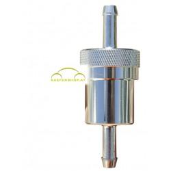 Benzinfilter, Alu, 6 mm Anschluß
