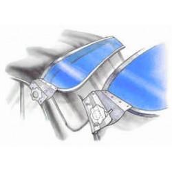 Sonnenschute, blau, T3, 5.79-7.92