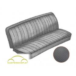 Sitzbezüge, Vordersitze, schwarz, 50-62