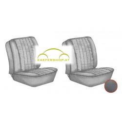 Sitzbezüge, Vordersitze, schwarz, 62-67