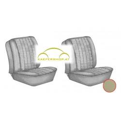Sitzbezüge, Vordersitze, beige, 62-67