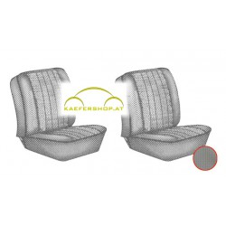 Sitzbezüge, Vordersitze, grau, 62-67