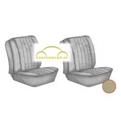 Sitzbezüge, Vordersitze, beige, 67-73