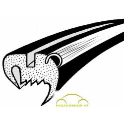 Seitenfensterdichtung m. Nut f. Alu-Zierrahmen, Käfer Limousine, li / re, ab 8.64