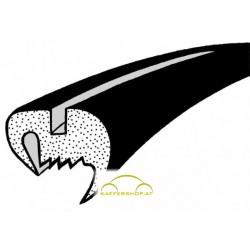 Heckscheibendichtung o. Nut, rundes Gummiprofil, Käfer Cabrio, 8.57-7.62