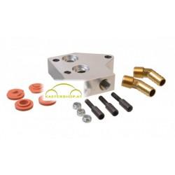Ölkühleradapter, Dual, Ölkühler Standard