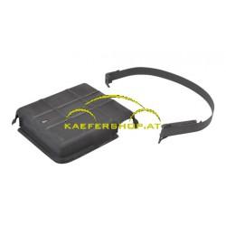 Batterieabdeckung mit Spannband, 6 Volt