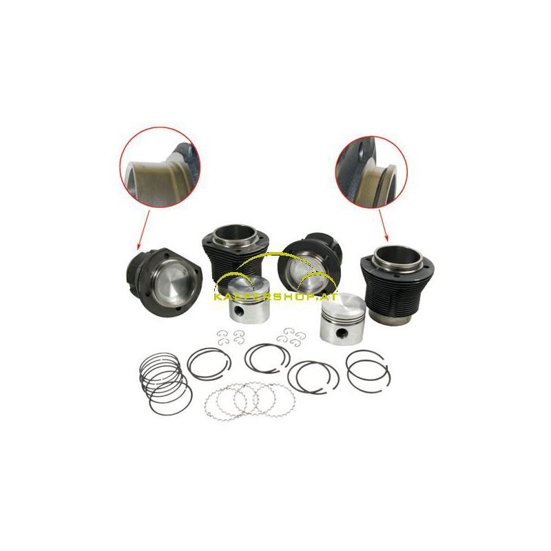 Kolben und Zylinder, 83x69mm, 1500ccm, 44PS