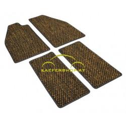 Fußmatten, Kokos, -57, gelb/schwarz