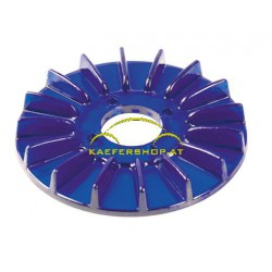 Generatorscheibenabdeckung, blau, Turbo-Style