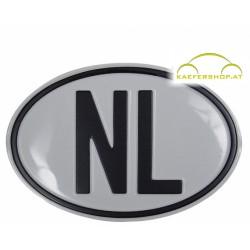 """Nationalitätsschild """"NL"""", Alu"""
