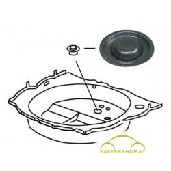 Verschlußdeckel für Reserveradwanne, Durchm. 65mm