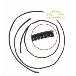Filzdichtung Schiebedach, vorne und hinten