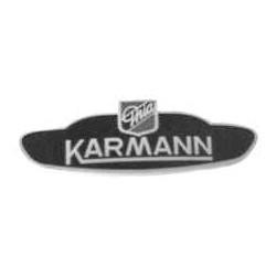 "Karmann-Emblem ""Karmann Ghia"", Stück"
