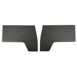 Türverkleidungen vorne, schwarz, T1, 3.61-7.67