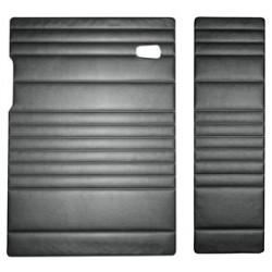 Türverkleidungen, hinten, Doppelkabine, schwarz, ab 8.67