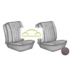 Sitzbezüge, Vordersitze, schwarz, 67-73