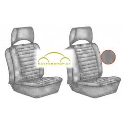 Sitzbezüge, Vordersitze, grau, 73-76