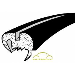Seitenfensterdichtung o. Nut, rundes Gummiprofil, Käfer Limousine, li / re, 10.52-7.64