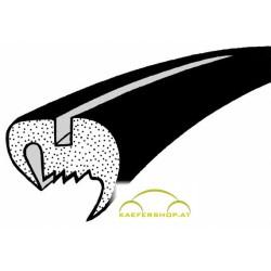 Seitenfensterdichtung o. Nut, rundes Gummiprofil, Käfer Limousine, li / re, .64-