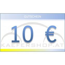 Käfershop.at € 10 Gutschein per E-Mail