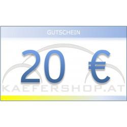 Käfershop.at € 20 Gutschein per E-Mail