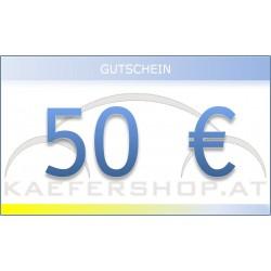 Käfershop.at € 50 Gutschein per E-Mail