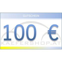 Käfershop.at € 100 Gutschein per E-Mail