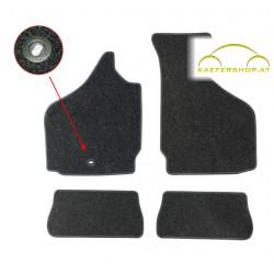 Fußraummatten, schwarz, Karmann Ghia